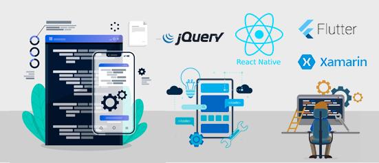 cross-platform mobile application development services hire full-stack developers